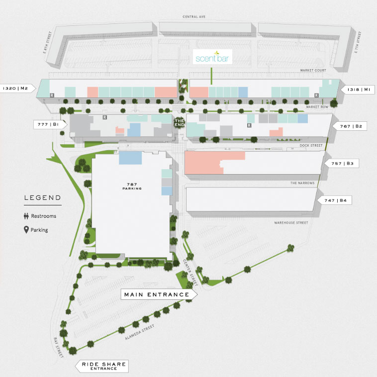 Scent Bar DTLA map & directions