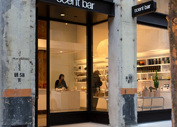 Scent Bar Downtown Los Angeles Storefront