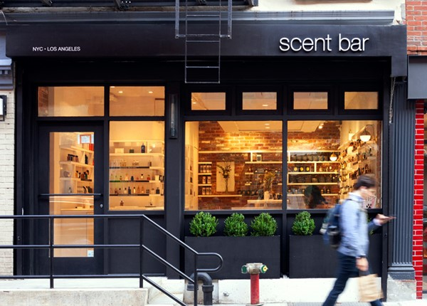 Scent Bar NYC Storefront