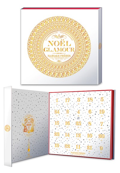 Noel Glamour Advent Calendar  by Mariage Freres