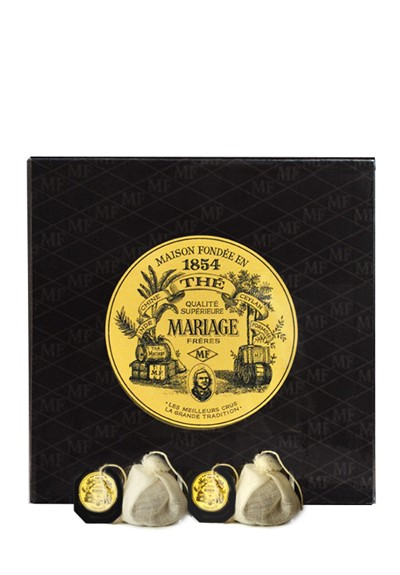 Earl Grey French Blue Black Tea - Sachet  by Mariage Freres