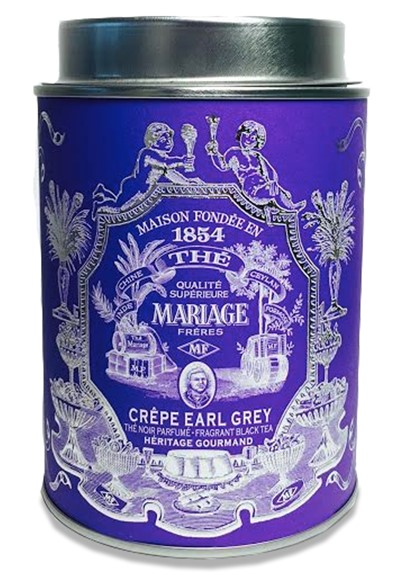 The Crepe Earl Grey - Heritage Gourmand  Earl Grey Black Tea - Loose Leaf  by Mariage Freres