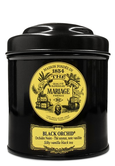 Black Orchid  Black Tea - Loose Leaf  by Mariage Freres
