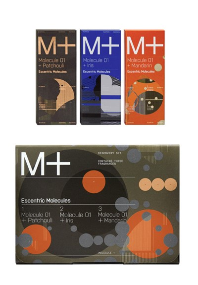 Molecule 01+ 2ml Discovery Set   by Escentric Molecules