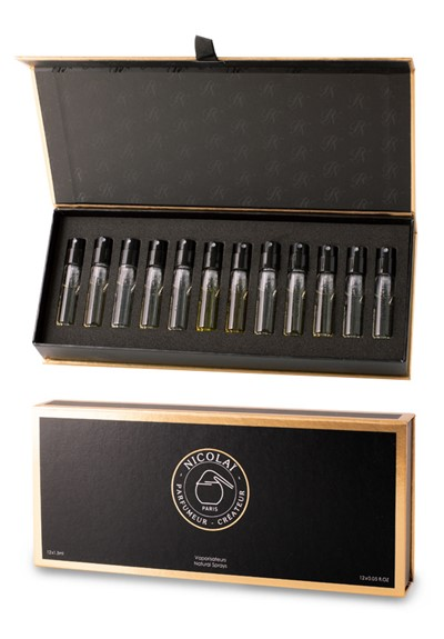 Deluxe 12-pc Discovery Set   by PARFUMS DE NICOLAI