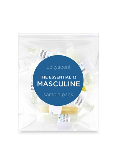 Essential 13 Sample Pack - Masculine    by Luckyscent Sample Packs