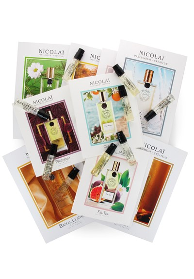 Parfums de Nicolai 8-piece Sampler 8 x 2ml Samples  by Luckyscent Gifts With Purchase