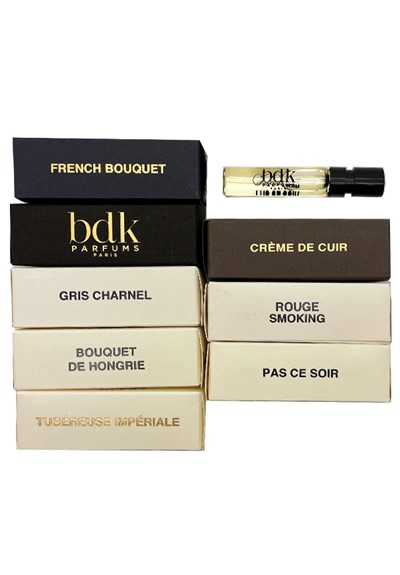 BDK Parfums 7pc Sampler   by Luckyscent Gifts With Purchase