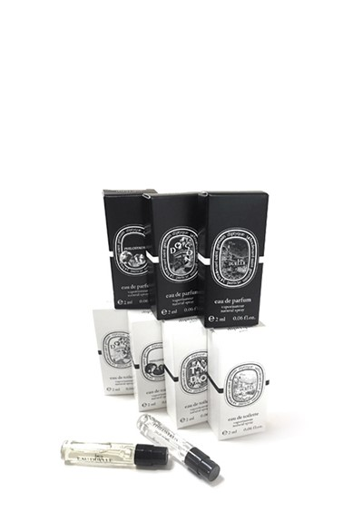 Diptyque 7pc Sampler   by Luckyscent Gifts With Purchase