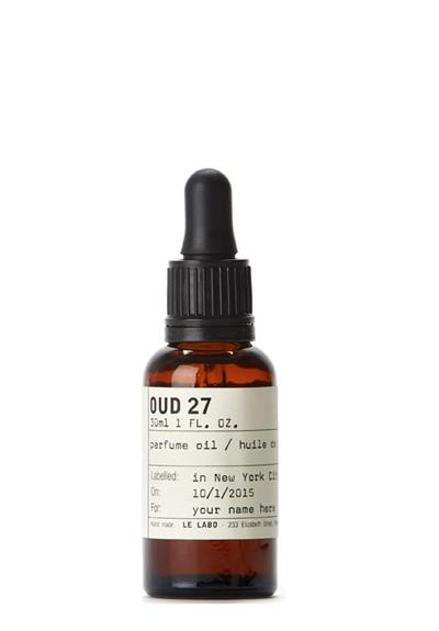 Oud 27 Perfume Oil Perfume oil  by Le Labo