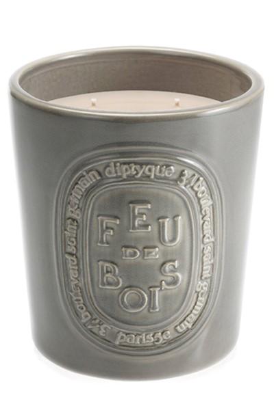Feu des Bois Large Ceramic Candle   by Diptyque