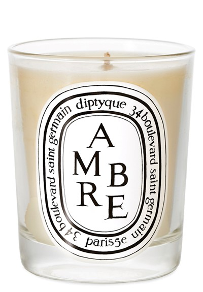 Ambre Candle Scented Candle  by Diptyque
