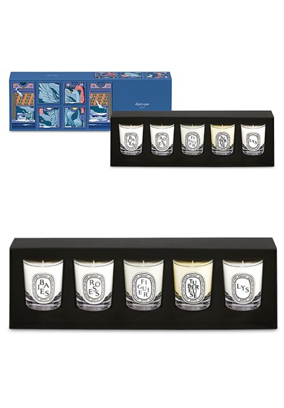 5-piece Holiday Candle Set  5-piece coffret  by Diptyque