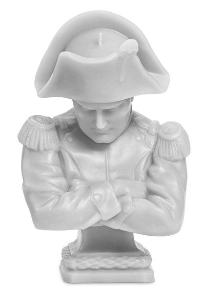 Napoleon Wax Bust - Grey   by Cire Trudon