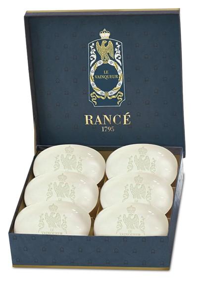 Le Vainqueur - Box of 6 Soaps   by Rance
