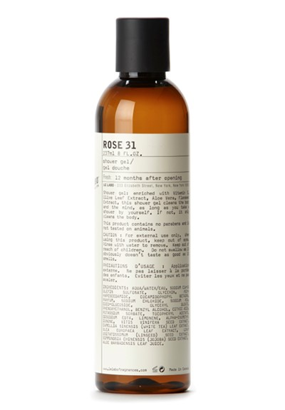 Rose 31 Shower Gel    by Le Labo Body Care