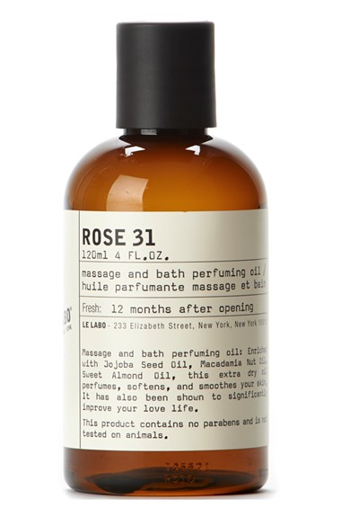 Rose 31 Massage and Bath Oil    by Le Labo Body Care