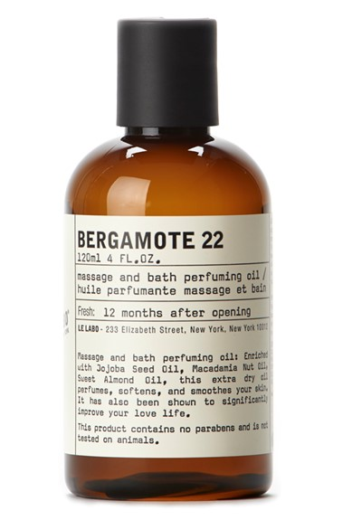 Bergamote 22 Massage and Bath Oil    by Le Labo Body Care