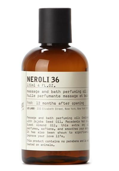 Neroli 36 Massage and Bath Oil   by Le Labo Body Care