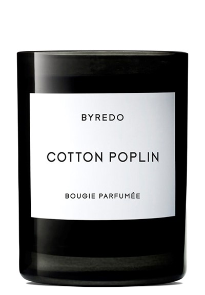 Cotton Poplin Fragranced Candle  by BYREDO