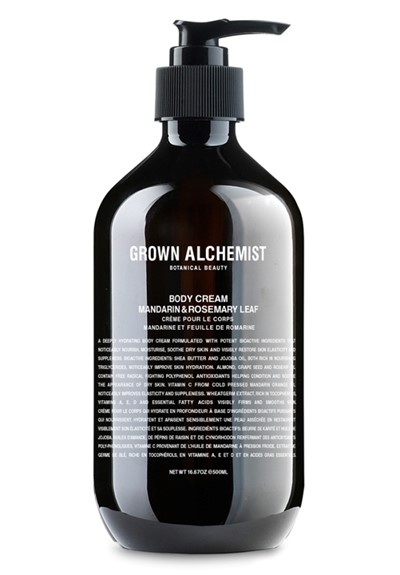 Body Cream: Mandarin & Rosemary Leaf   by Grown Alchemist