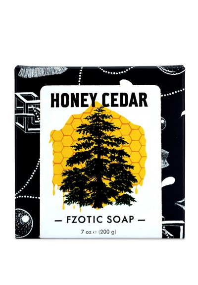 Honey Cedar  Bar Soap  by Fzotic