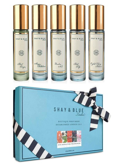 Precious Miniatures Set  Perfume Discovery Set  by Shay & Blue