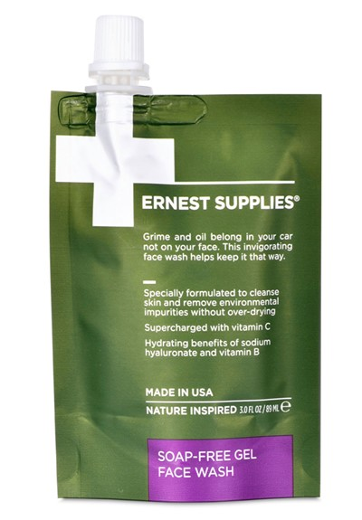 Soap-Free Gel Face Wash - Travel Friendly Face Wash  by Ernest Supplies