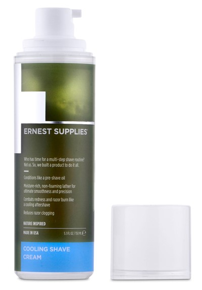 Cooling Shave Cream Shaving Cream  by Ernest Supplies