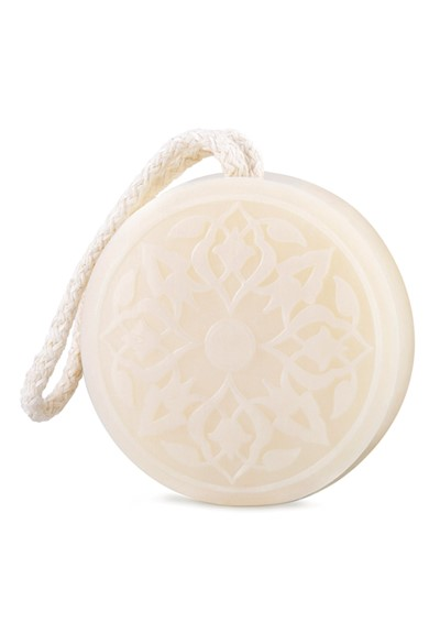 Hammam Soap - Rose of Damascus  Soap on a Rope  by Senteurs D'Orient