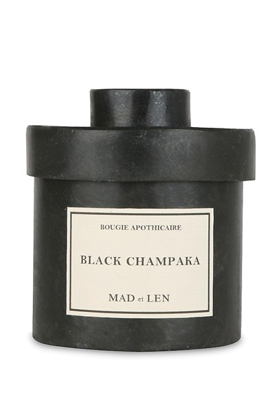 Black Champaka Candle Scented Candle  by Mad et Len