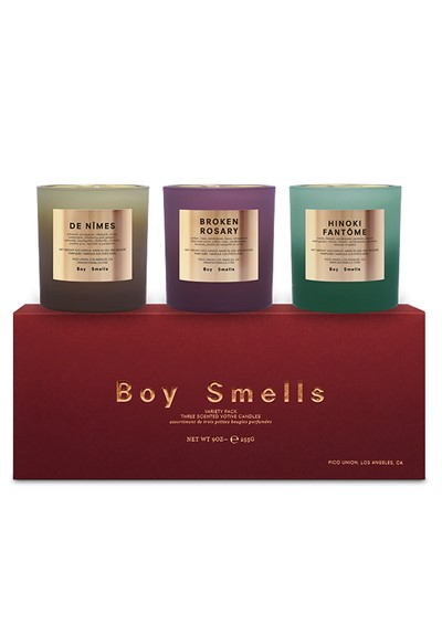 Holiday Rituals Votive Set  Scented Candle  by Boy Smells