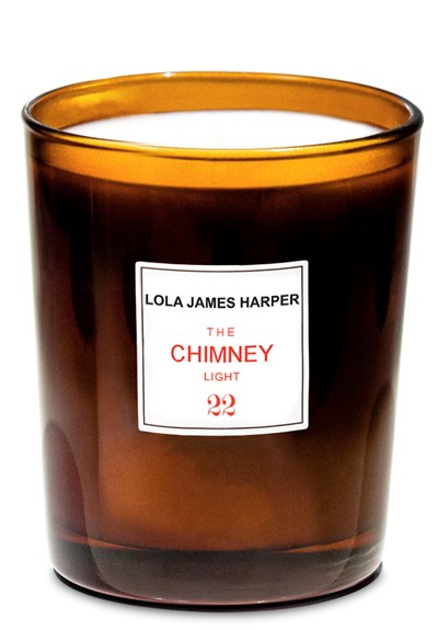 The Chimney Light  Scented Candle  by Lola James Harper