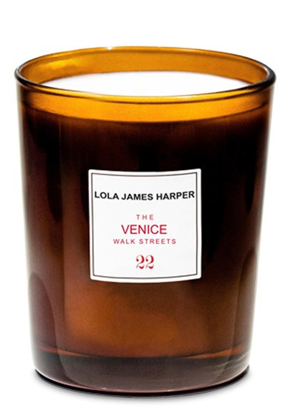 The Venice Walk Streets Scented Candle  by Lola James Harper