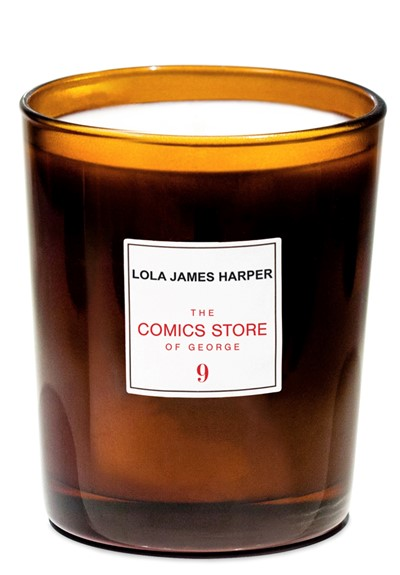 The Comics Store of George Candle  Scented Candle  by Lola James Harper