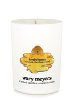 Lovely, Honey candle by Wary Meyers