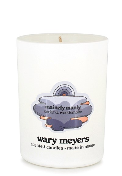 Mainely Manly candle  Scented Candle  by Wary Meyers