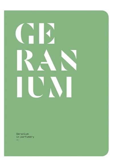 Geranium in Perfumery Magazine  by NEZ