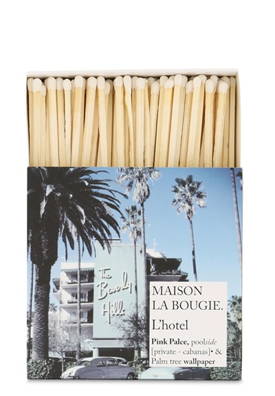 L'Hotel Matches  Matches  by Maison La Bougie