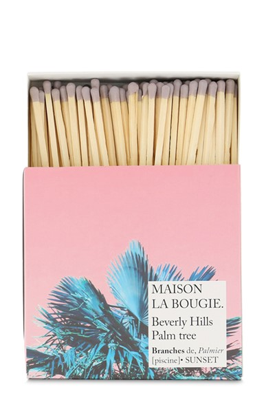 Beverly Hills Palm Tree Matches  Matches  by Maison La Bougie