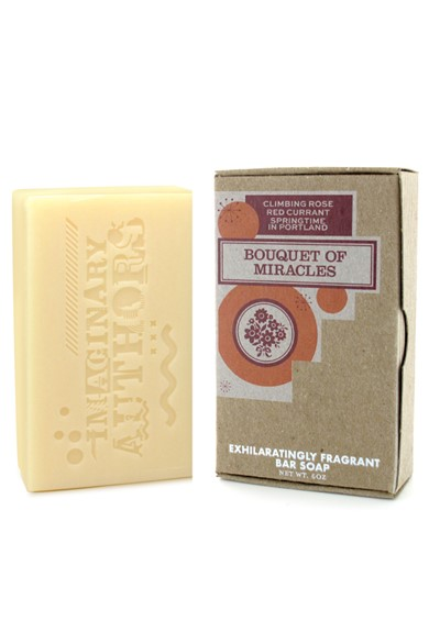 Bouquet of Miracles Bar Soap  by Imaginary Authors