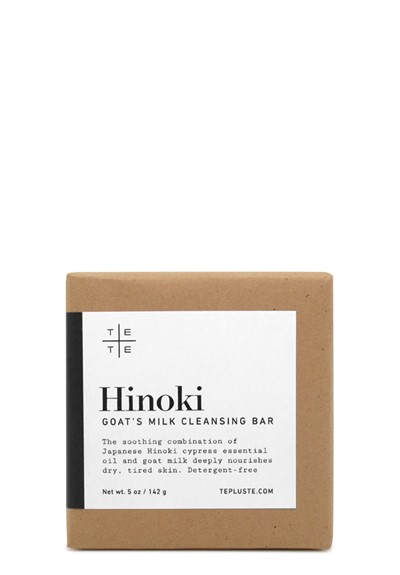 Hinoki Goat's Milk Cleansing Bar  Bar Soap  by Te plus Te