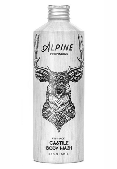 Fir + Sage Castile Soap Liquid Soap  by Alpine Provisions
