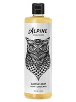 Cedar + Sandalwood Castile Soap by Alpine Provisions