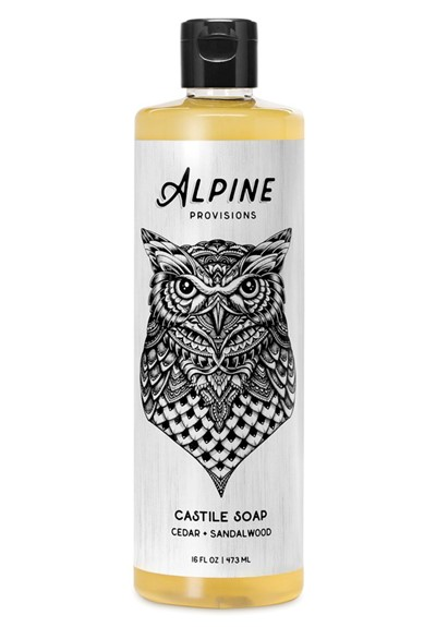 Cedar + Sandalwood Castile Soap Liquid Soap  by Alpine Provisions
