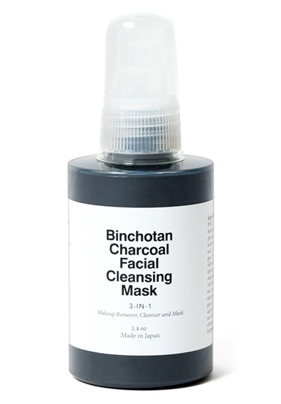 Binchotan Charcoal Cleansing Mask  Charcoal Face Mask  by Morihata
