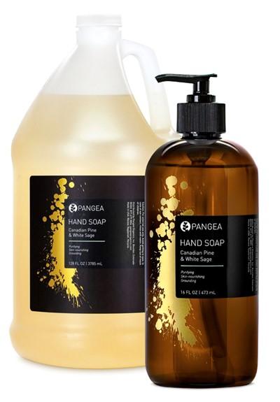 Hand Soap - Canadian Pine & White Sage   by Pangea Organics