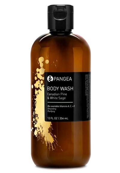 Body Wash - Canadian Pine & White Sage    by Pangea Organics