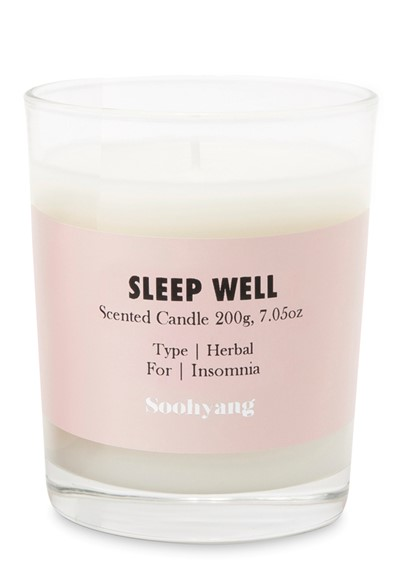 Sleep Well  Scented Candle  by Soohyang
