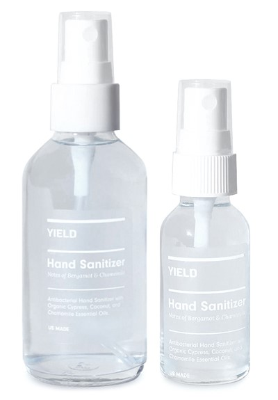 Hand Sanitizer Spray- Bergamot + Chamomile  Antiseptic Spray  by YIELD